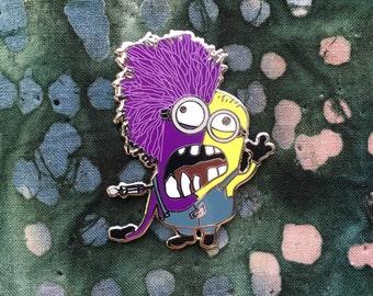 Minion Hat Pin - Purple Minion Pin