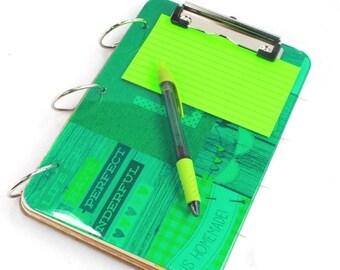 Clipboard Recipe Book - Recipe Binder - Family Recipes - Recipe Organizer Book - Cooks Helper - Blank Cookbook - Recipe Card File - TCR 012