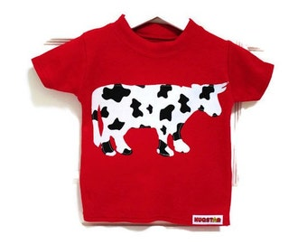 Baby, Kid's Cow T shirt