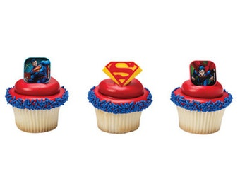 Cake Decor Ring : 24 Wild Kratts Cupcake Rings Cake Decor Toppers by BlingYourCake