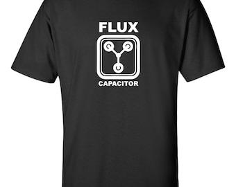 Flux Capacitor Men's Eighties Nostalgia Back to the Future Tee