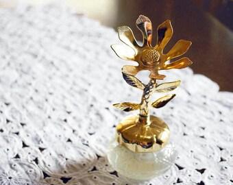 Avon Keepsake Cream Sachet Bottle Bird of Paradise