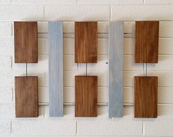 Helen Wall Sculpture, Wood Wall Art, Modern Wall Art, Mid-Century Modern, Minimal, Geometric, Retro, Abstract, Wall Decor, Art Objects