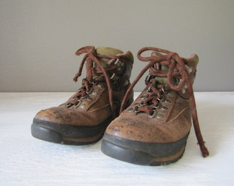 Timberland Women's Hiking Boots Size 7 M, Vintage Boots
