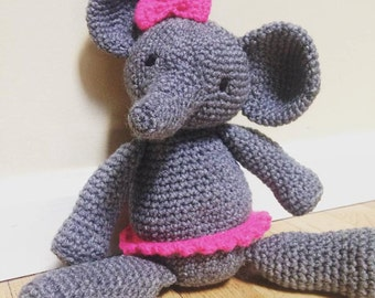 Happy Elephant Crochet Pattern