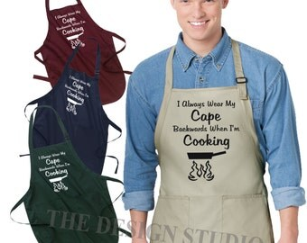 Grill Master Apron, Kitchen Apron, Gifts for Him, Gifts for Her, Gifts for Dad, Grilling Apron, Men's Grilling Apron, Father's day gift