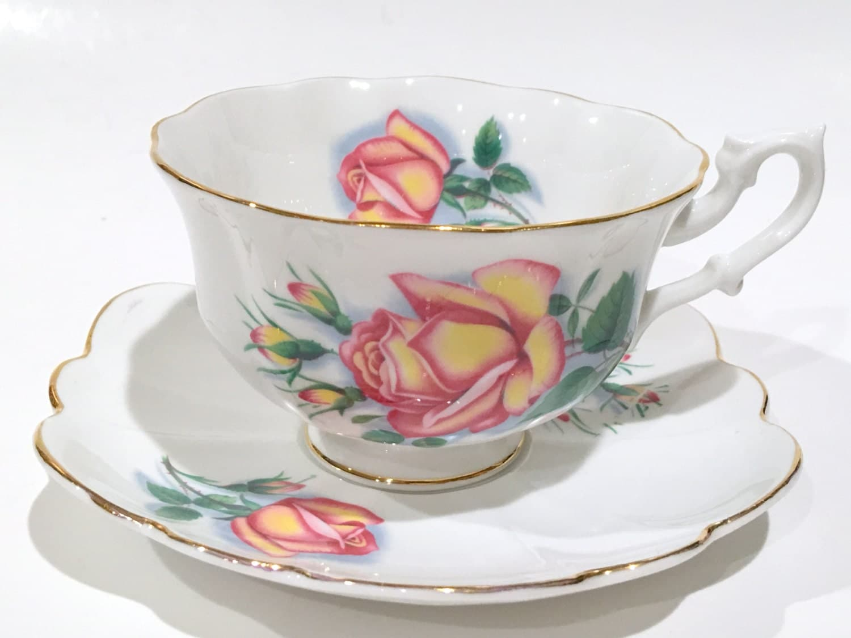 vintage teacup tea cup-#28