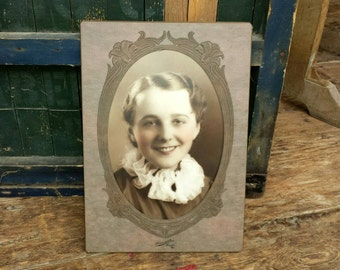 Antique Photo Framing Mat From The Early 1900's