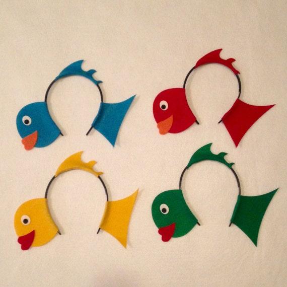 Fish under the sea Theme Headbands birthday party favors