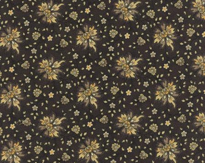 Wild Orchid Passionate Bloom Black 277113 - 1/2yd