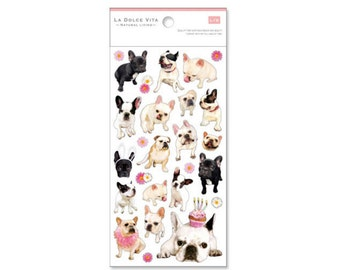 French Bulldog Sticker for gift or wrapping