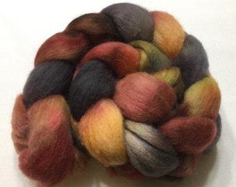 Corriedale, 4.3oz, Wool, Roving, Top, Hand dyed, Felting, Fiber, C110