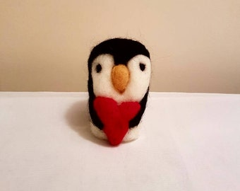 Love Giving Needle Felted Penguin