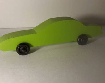 Handcrafted Wood Toy Car #6
