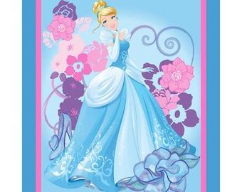 SALE!! Disney Cinderella Princess Fabric By the Panel