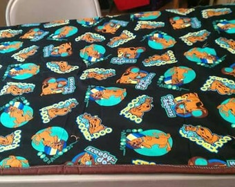 Scooby doo crib/toddler size quilt