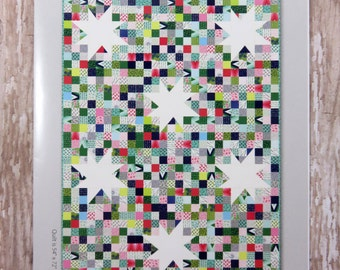 Lucky Stars Quilt Pattern - Moda- V and Co. - Vanessa Christenson - VC1219