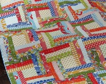 Off the Rail Quilt Pattern - Julie Herman - Jaybird Quilts - JBQ 110