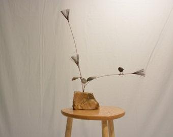 C. Jere Kinetic Bird Sculpture