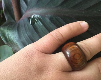 SALE!!! ᏇᎾᎾⅅ ЅTᎾℂᏦ Wooden Ring