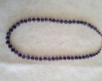 Vintage Amethyst Necklace