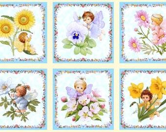 Precious Fairies Panel, Metallic, Angels & Fairies, Elizabeth's Studios, By Panel