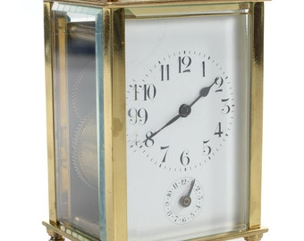 Beautiful French Brass Carriage Clock