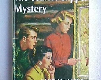 Scarlet Slipper Mystery Nancy Drew Hardcover Book 1954