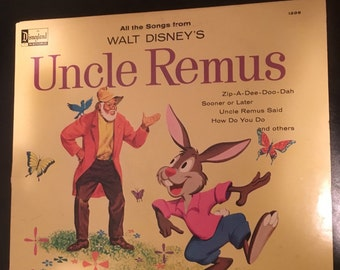 Unique Disney Uncle Remus Related Items Etsy