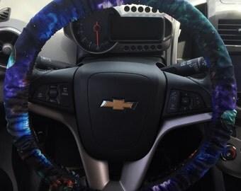 Galaxy Print Steering Wheel Cover