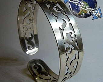800 silver bangle silversmiths masterpiece Cairo Egypt 1946