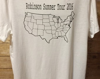 Summer road trip shirts