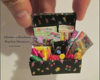 Sewing Box Miniature