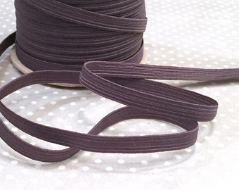 """Rubber band 7 mm """"dark grey"""" from 1 m"""