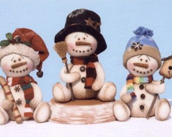Primitive PATTERN Prim Little Snow Buddies