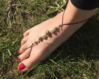 Barefoot sandal-stocking stuffer-beach wedding-wedding jewelry-destination wedding-beach jewelry-baby sandals-baby jewelry