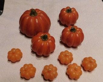 10 Made in Hong Kong Pumpkin Candles