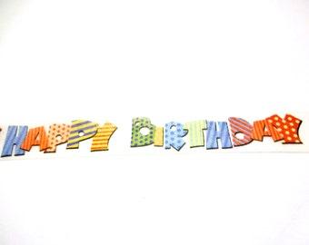 Birthday Washi Tape, Washi Tape, Birthday Party Decorations, Planner Washi, Planner Tape, Scrapbook Supplies, Paper Tape, Birthday