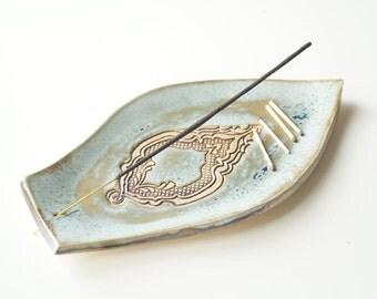 Incense Holder, Incense Burner, Incense Tray, Incense Dish, Incense Stick Holder, Ceramics and Pottery, Handmade Incense Burner