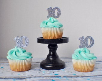 Number Cupcake Toppers