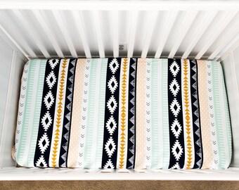 Arid Horizon fitted Crib Sheet