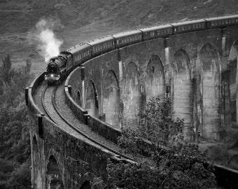 "Fine Art Photography, Landscape Photography, Wall Art, Landscape Print, Scotland - ""Glenfinnan Viaduct"""