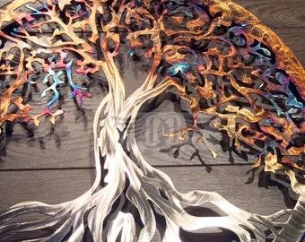 Metal Wall Art Tree Of Life Wall Decor Wall Art Part 75