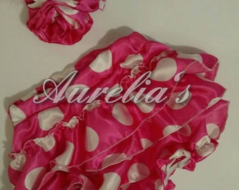 Bloomers with hair bow