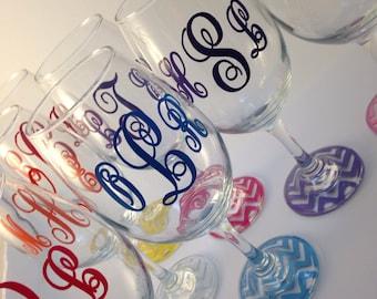 20 oz personalized wine glass