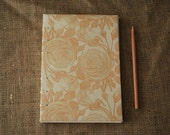 Lacquered orange rose journal (A5)