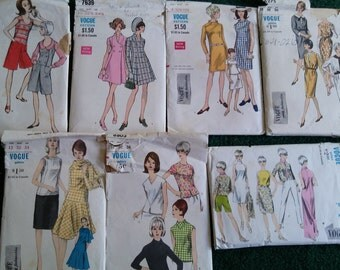 Vintage Vogue Patterns from the 1960s