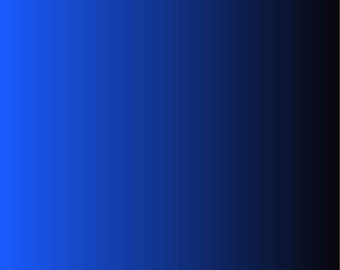 Blue and black Ombre print craft  vinyl sheet - HTV or Adhesive Vinyl -  fade gradient print vinyl  HTV3118
