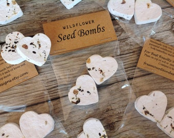 25 Flower Seed Bomb Packets