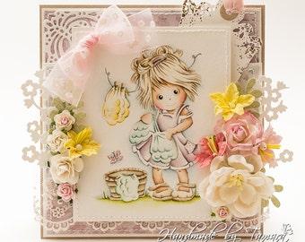 OOAK Bildmalarna Birthday card